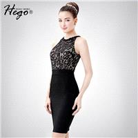 Sexy Seen Through Attractive Slimming Sheath Tulle It Girl Summer Formal Wear Dress - Bonny YZOZO Bo