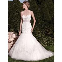 Casablanca Bridal 2138 Wedding Dress - Long Mermaid Sweetheart Casablanca Bridal Wedding Dress - 201