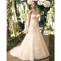 Casablanca Bridal 2168 Strapless Lace A-Line Wedding Dress - Crazy Sale Bridal Dresses|Special Weddi