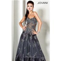 Classical Cheap Embroidered Dress by Jovani Evening 3677 Dress New Arrival - Bonny Evening Dresses O