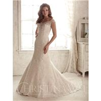 Ivory/Oyster/Silver Christina Wu Bridal 15582 - Brand Wedding Store Online