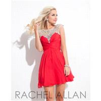 Red Rachel Allan Shorts 4037 Rachel ALLAN Homecoming - Rich Your Wedding Day