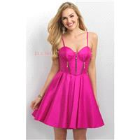 Party Pink Sweetheart Mikado Dress by Blush by Alexia - Color Your Classy Wardrobe