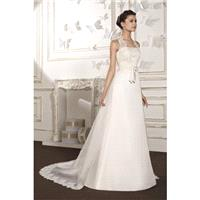 Style B8013 by Villais Collection from Karelina Sposa - Sleeveless Floor length Chapel Length LaceOr