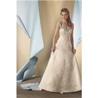 Style 2447 by Alfred Angelo Signature Collection - Sweetheart LaceSatin Sleeveless Floor length Semi