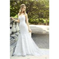 Style D8127 by Val Stefani - Sweetheart Sleeveless Floor length Mermaid LaceTulle Dress - 2018 Uniqu