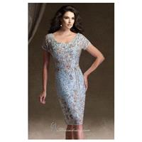 Silk Chiffon Dress by Ivonne D Exclusively for Mon Cheri 113D10 - Bonny Evening Dresses Online