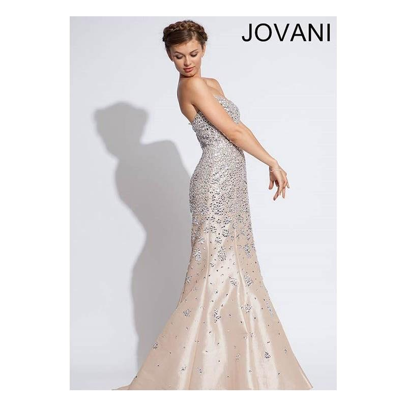 wedding, Jovani 78632 Beaded Mermaid Gown - 2018 Spring Trends Dresses|Beaded Evening Dresses|Prom D