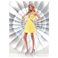 Charming Chiffon Sweetheart Neckline Short A-line Homecoming Dress - overpinks.com