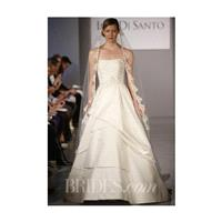 Ines Di Santo - Spring 2014 - Musette Strapless A-Line Wedding Gown with Pleated Skirt and Bodice -