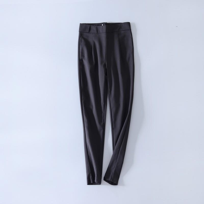 My Stuff, Must-have Vogue Simple Slimming Black Skinny Jean Pencil Trouser - Lafannie Fashion Shop