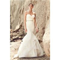 Mikaella Spring/Summer 2017 2111 Mermaid Chapel Train Ivory Sweetheart Sweet Sleeveless with Sash Tu