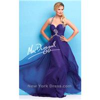 Mac Duggal 65113L - Charming Wedding Party Dresses|Unique Celebrity Dresses|Gowns for Bridesmaids fo