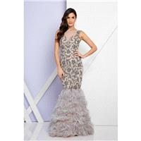 Terani Couture - 1721GL4451 Sleeveless Embellished Mermaid Gown - Designer Party Dress & Formal Gown