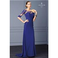 Cobalt Alyce Black Label 5716 Alyce Paris Black Label - Rich Your Wedding Day