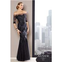 Alyce 29722 Jean De Lys Lace Mermaid Dress - Brand Prom Dresses|Beaded Evening Dresses|Charming Part