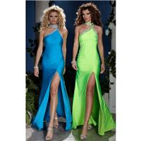 Black Panoply 14391 - High Slit Dress - Customize Your Prom Dress