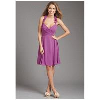 Allure Bridesmaids 1363 - A-Line Sweetheart Chiffon Short Natural Ruching - Formal Bridesmaid Dresse