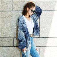 Oversized Bishop Sleeves Casual Cardigan Sweater Coat - Bonny YZOZO Boutique Store