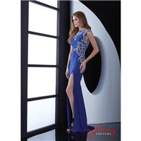 Jasz Couture 5464 Sexy Low Back Prom Dress - Brand Prom Dresses|Beaded Evening Dresses|Charming Part