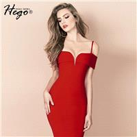 Sexy Attractive Slimming V-neck Off-the-Shoulder Summer Formal Wear Strappy Top Dress - Bonny YZOZO