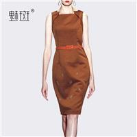 Sexy Slimming Sheath Square Sleeveless Summer Pencil Skirt Dress - Bonny YZOZO Boutique Store
