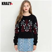 Elegant Vintage Art Casual Knitted Sweater Sweater - Bonny YZOZO Boutique Store
