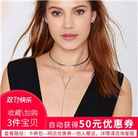 Vogue Triangle Edgy Necklace Choker - Bonny YZOZO Boutique Store