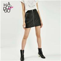 Must-have Vogue A-line Trendy Black Skirt - Bonny YZOZO Boutique Store